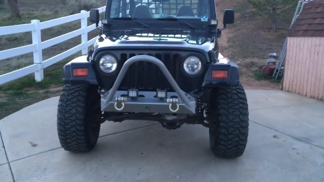 Jeep Wrangler Tj Build >> Jeep Tj Build Youtube