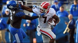 #6 Georgia Highlights Vs. #9 Kentucky 2018 | CFB Week 10 | College Football Highlights 2018