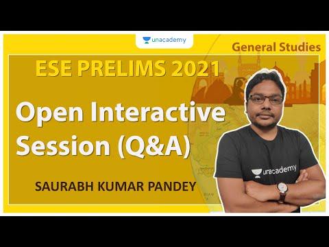 Open Interactive Session (Q&A) | GS | Saurabh Kumar Pandey