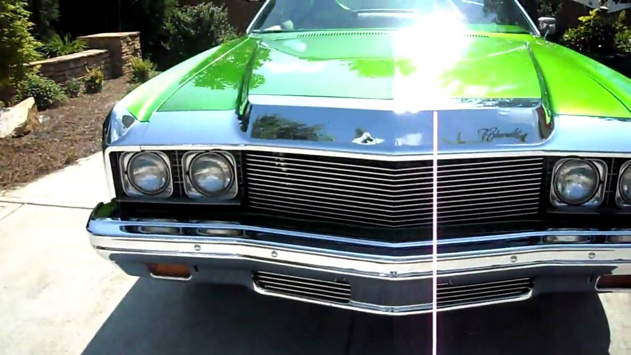 1973 chevy impala - YouTube