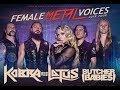 KOBRA AND THE LOTUS - Female Metal Voices Tour 2018 - Europe