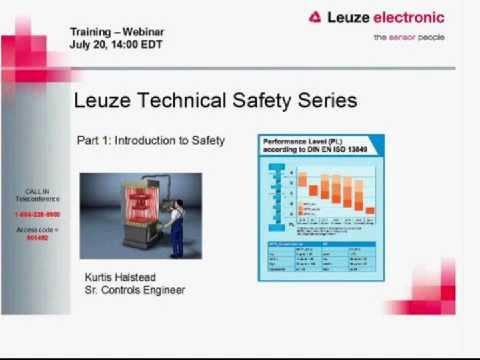 Functional Machine Safety Services Webinar - Part 1 - Introduction