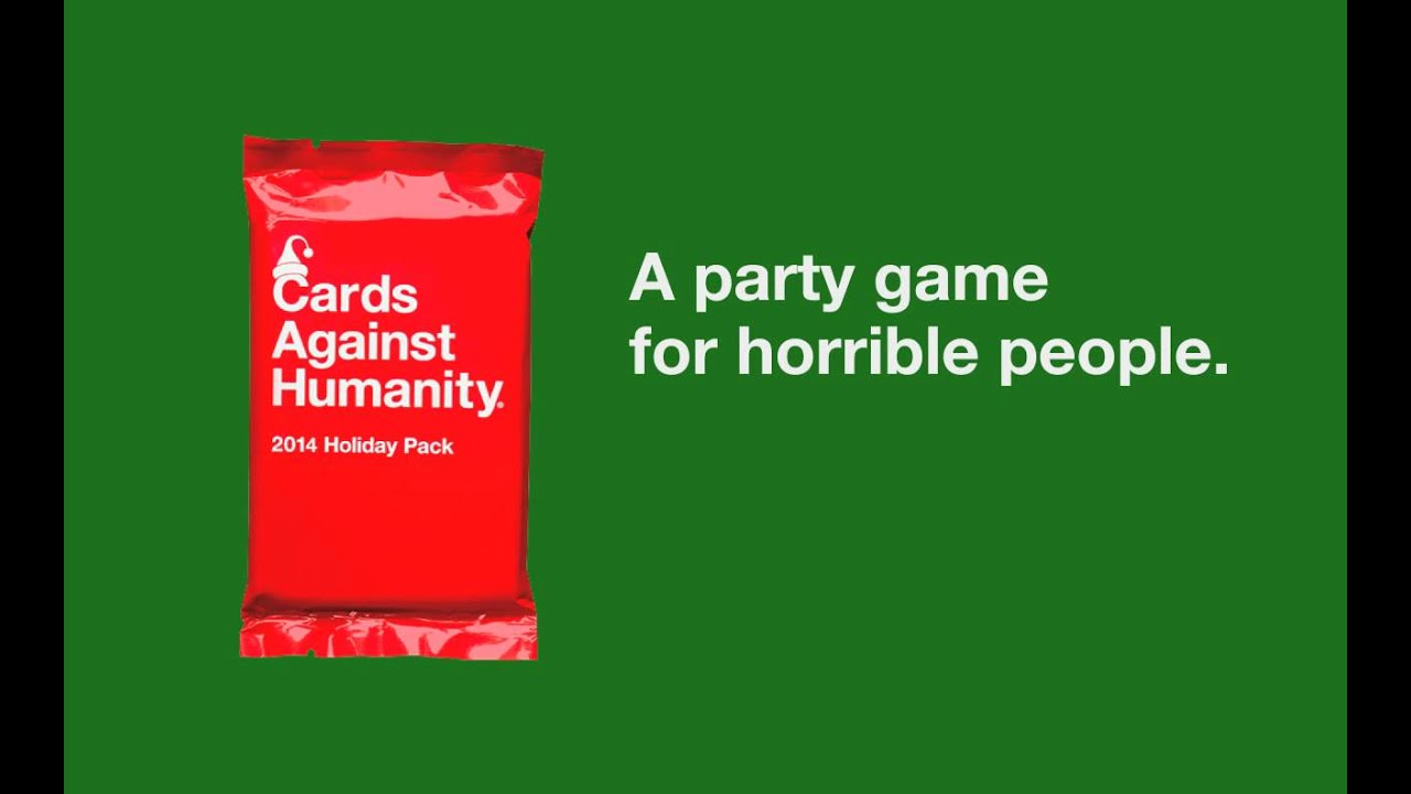 Cards Against Humanity 2014 Holiday Pack - YouTube