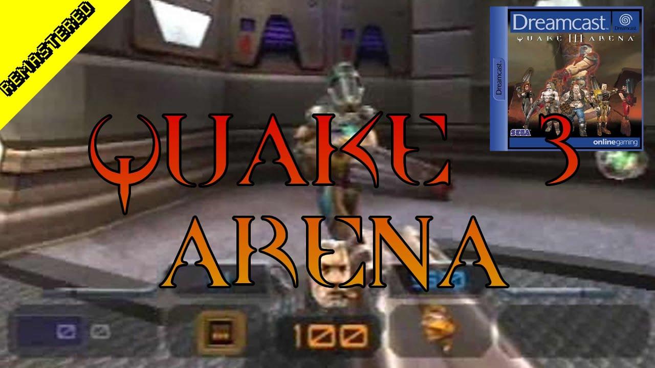 Quake 3 Arena Sega Dreamcast Crgr Remastered Classic Retro