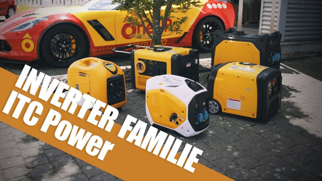 Ademax Inverter Familie ITC Power Stromaggregate leise Stromerzeuger  Camping Garten und Wohnmobil