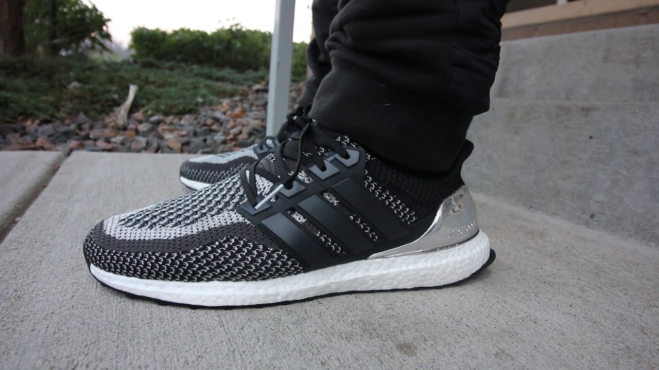 Adidas Ultra Boost Silver Medal Unboxing On Feet Youtube