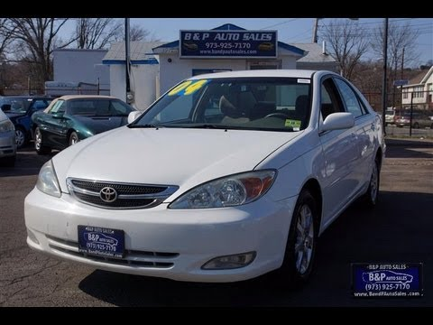 2004 Toyota Camry Limited Edition