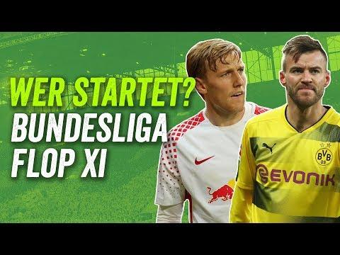 Zweimal BVB, einmal FC Bayern: Die Flop XI der Bundesliga - Saison 2017/18