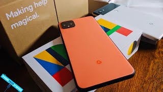 Oh So Orange Google Pixel 4XL Unboxing! 128GB Unlocked Team Pixel Edition!