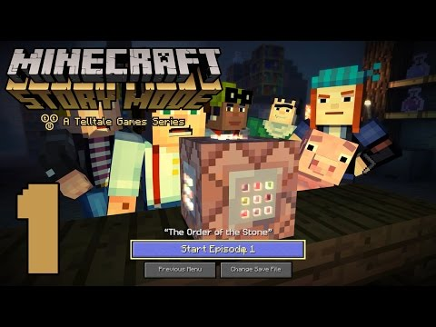 """Minecraft: Story Mode """"The Order of the Stone"""" (#1) 