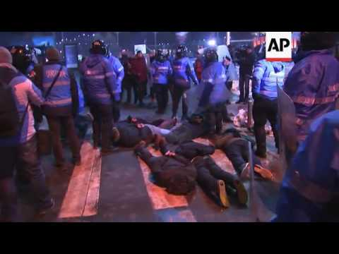 Arrests as protests continue in Romanian capital