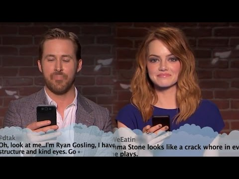 Thumbnail: Jimmy Kimmel Brings Mean Tweets To The Oscars With Ryan Gosling & Emma Stone