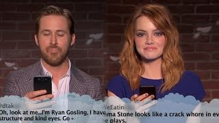 jimmy kimmel brings mean tweets to the oscars with ryan gosling emma stone