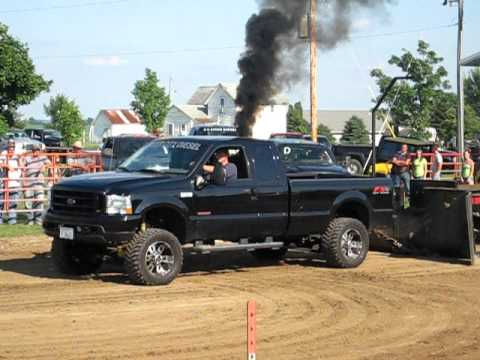 Brents truck, 6.0 Powerstroke Sled pull Wyoming, IL 2009 ...