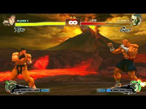 Grunderna i Ultra Street Fighter IV