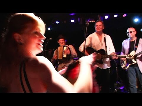 SLIM CHANCE at Dingwalls 2014 with Can-Can dancers