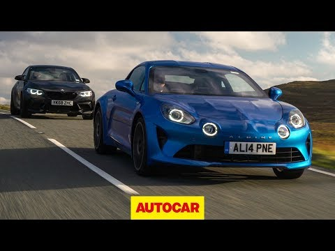 Alpine A110 vs BMW M2 Competition review   Which is the best sports car?   Autocar