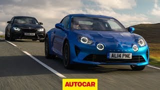 Alpine A110 vs BMW M2 Competition review | Which is the best sports car? | Autocar