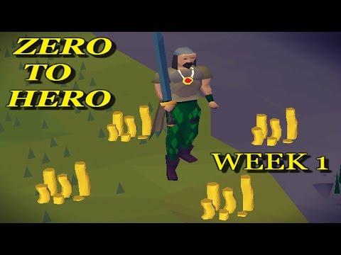 F2P PKing Series - 'Zero To Hero' Week 1 Update   Oldschool Runescape 2007