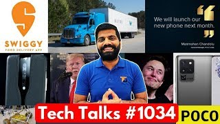 Tech Talks #1034 - Poco Phone Launch, Google I/O 2020, vivo 55W Charging, Realme Fitness Band
