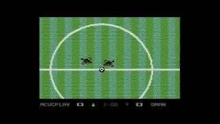 C64 edicola - Super Soccer (Microprose Soccer)