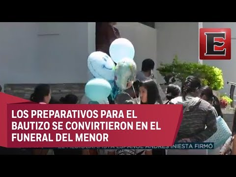 Dan último Adiós A Bebé Que Murió Durante Balaceras En Guadalajara