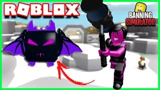 J'AI ENFIN LE PET UNREAL !! | Roblox Banning Simulator