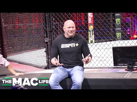 Dana White opens new UFC Apex facility; reveals details of Autumn boxing move