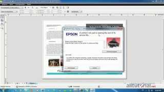 Cara Reset Printer Epson L110 L210 L300 L350 Dan L355