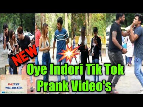 Oye Indori Tik Tok Video | Oye Induri Prank Video | Prank Video | Tik Tok Latest Funny Video's | Raj