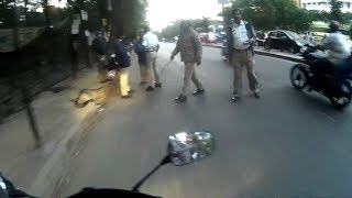 What POLICE!! Did to me on KANNADA RAJYOTSAVA -  BANG2W