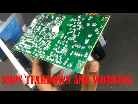SMPS teardown and working (Zebronics smps)