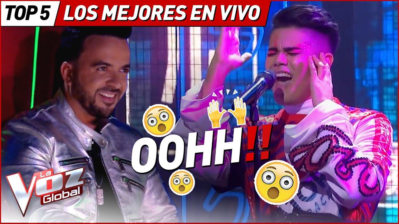 Las MEJORES actuaciones EN VIVO en La Voz
