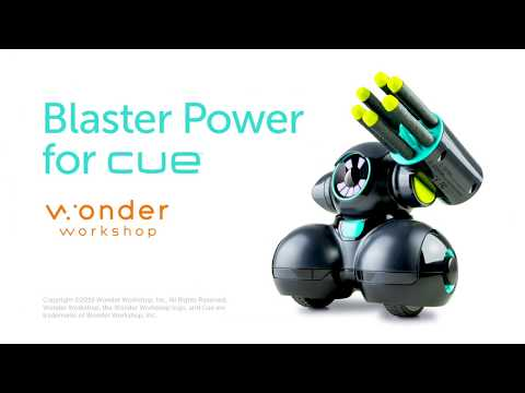 Blaster Power For Cue | Wonder Workshop