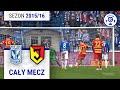 Lech Poznań - Jagiellonia Białystok [1. połowa] sezon 2015/16 kolejka 24