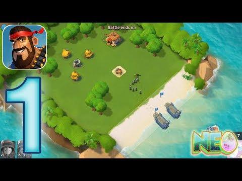 Boom Beach: Gameplay Walkthrough Part 1 - The Tutorial (iOS, Android)