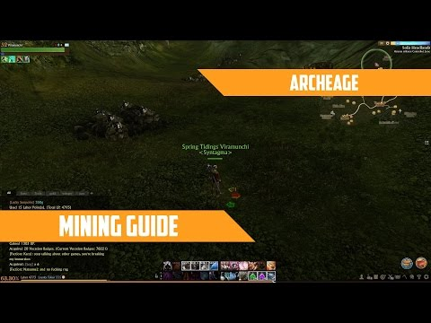 ArcheAge - A guide to mining