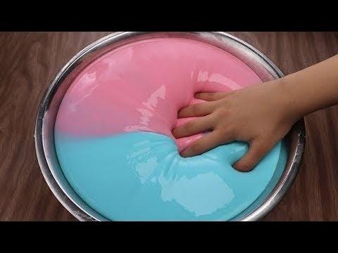 4 Лизуна без клея из шампуня, пасты сахара Как сделать слайм