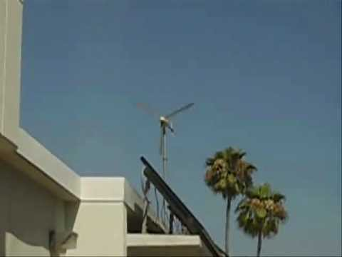 Wind Turbine at CSULA for 20:12 minutes
