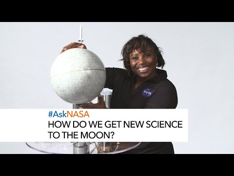 #AskNASA How Do We Get New Science to the Moon?