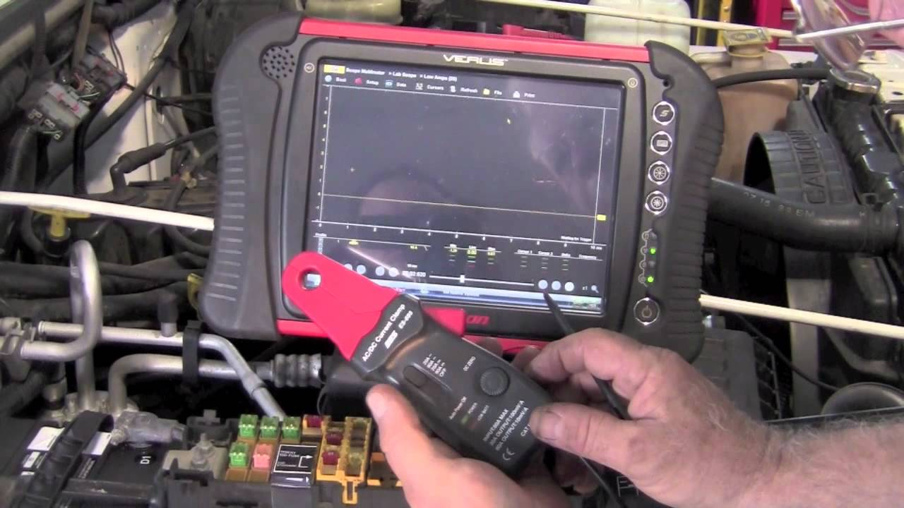 Ford Pcm Wiring Diagram Accessing The Fuel Pump Circuit Youtube