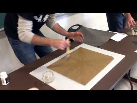 How to treat paper with methylcellulose