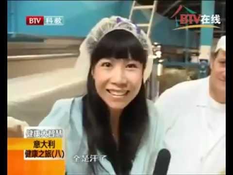 """La televisione cinese """"Beijing tv"""" al Pastificio Benedetto Cavalieri"""