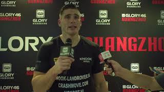 GLORY 46 Post-Fight: Rico Verhoeven on win over 'Bigfoot' Silva