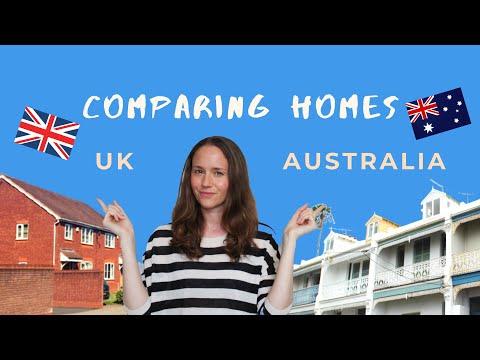 UK VS AUSTRALIAN ARCHITECTURE: Homes Design Comparison