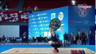 2015 European Weightlifting Women