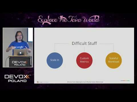 Devoxx Poland 2016 - Ray Tsang - Scaling with Kubernetes, Automatically! Learn Kubernetes API...