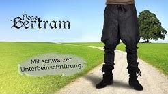 Mittelalter-Hose mit Unterbeinschnürung: Bertram