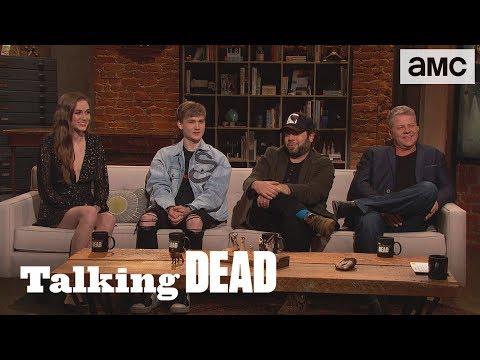 'Similarities Between Michonne & Luke's Groups' Fan Questions Ep. 907   Talking Dead