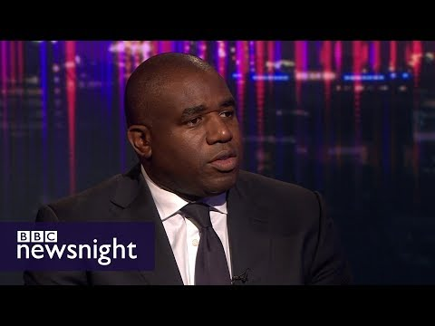 David Lammy on racial bias in the criminal justice system - BBC Newsnight
